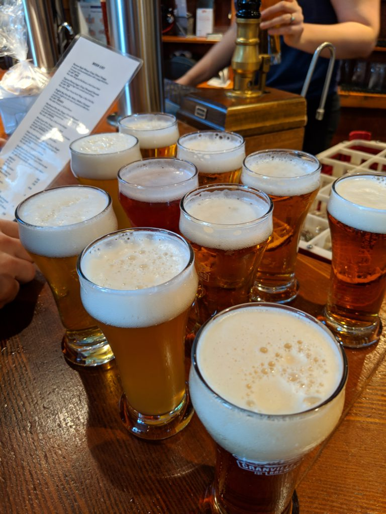 Grab yourself a beer (or a few) at Granville Island Brewery
