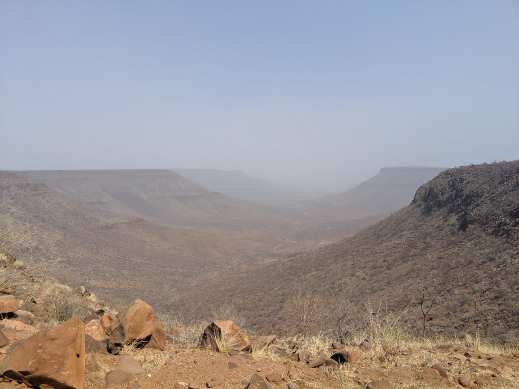 View from Grootberg Lodge
