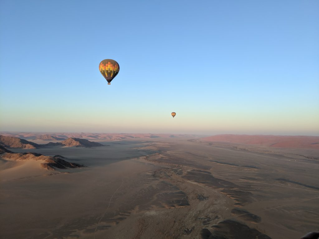 View From Hot Air Balloon
