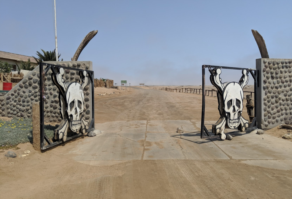 Entrance to the Skeleton Coast